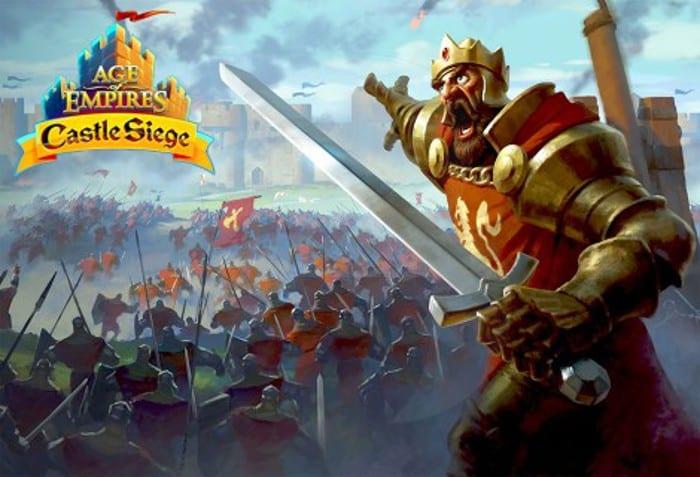 AOE Castle Siege Android Sürümü Duyurusu