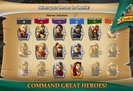 Hall of Heroes - Castle Siege Kahramanları