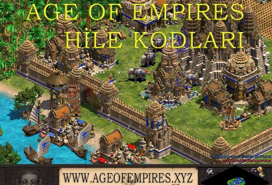 Age Of Empires Hile Kodları