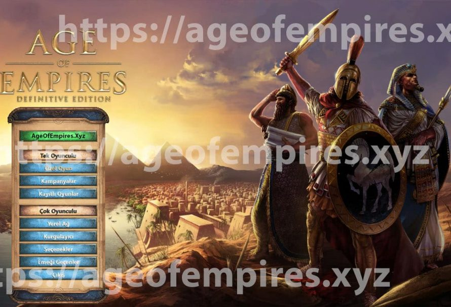 Age Of Empires Definive Edition Türkçe Yama