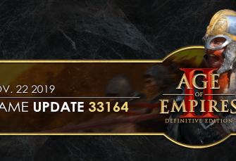Age of Empires II: Definitive Edition — Güncelleme 33164