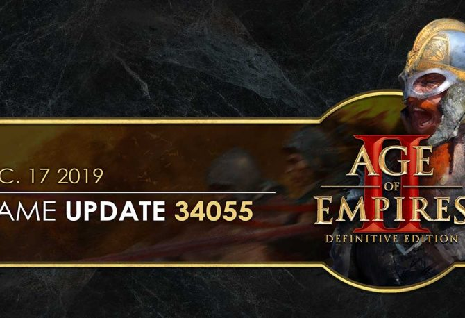 Age of Empires II: Definitive Edition — Güncelleme 34055