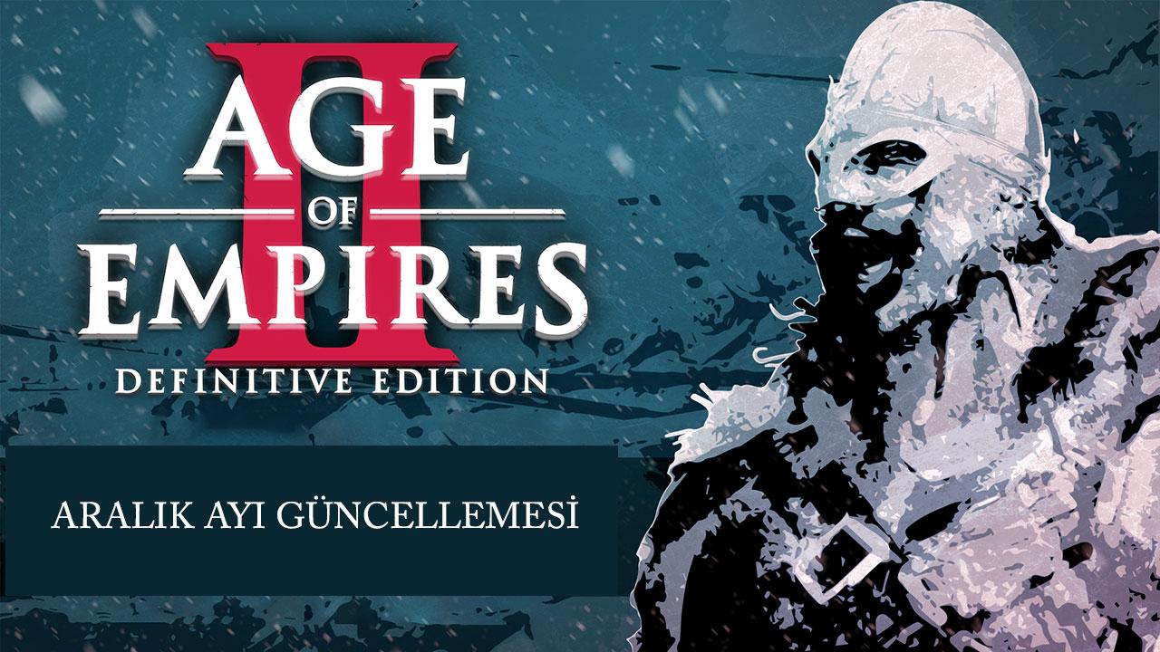 Age Of Empires II : DE Aralık Ayı  Güncellemesi Duyurusu
