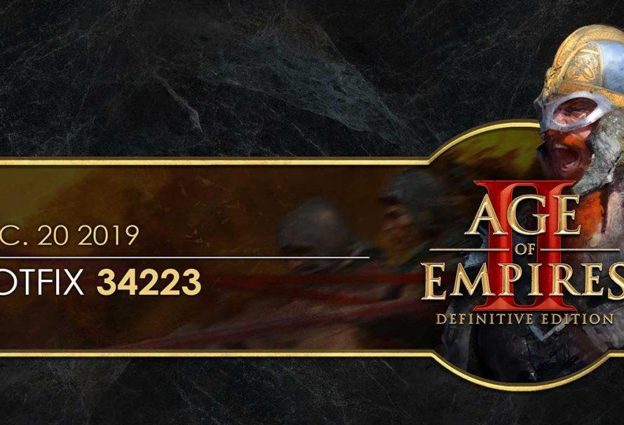 Age of Empires II: Definitive Edition Düzeltme 34223