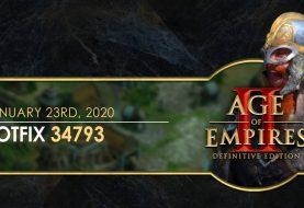 Age of Empires II: Definitive Edition Düzeltme 34793