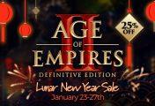 Age Of Empires Oyunları Çin Yeni Yılı İndirimleri