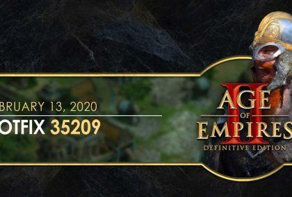 Age of Empires II: Definitive Edition Düzeltme 35209