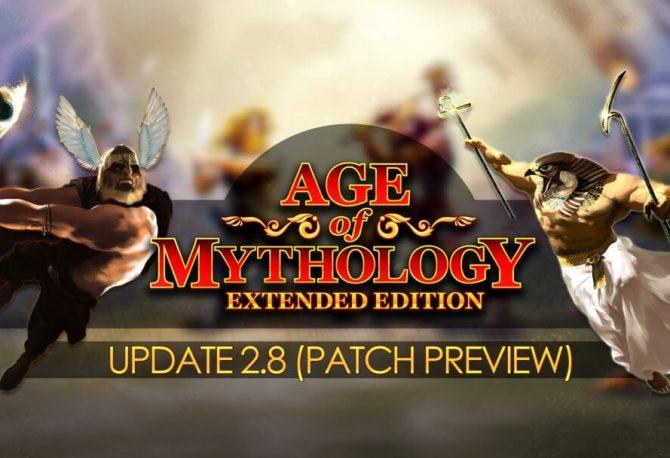Age Of Mythology Güncelleme 2.8 Önizleme (Beta) Sürümü
