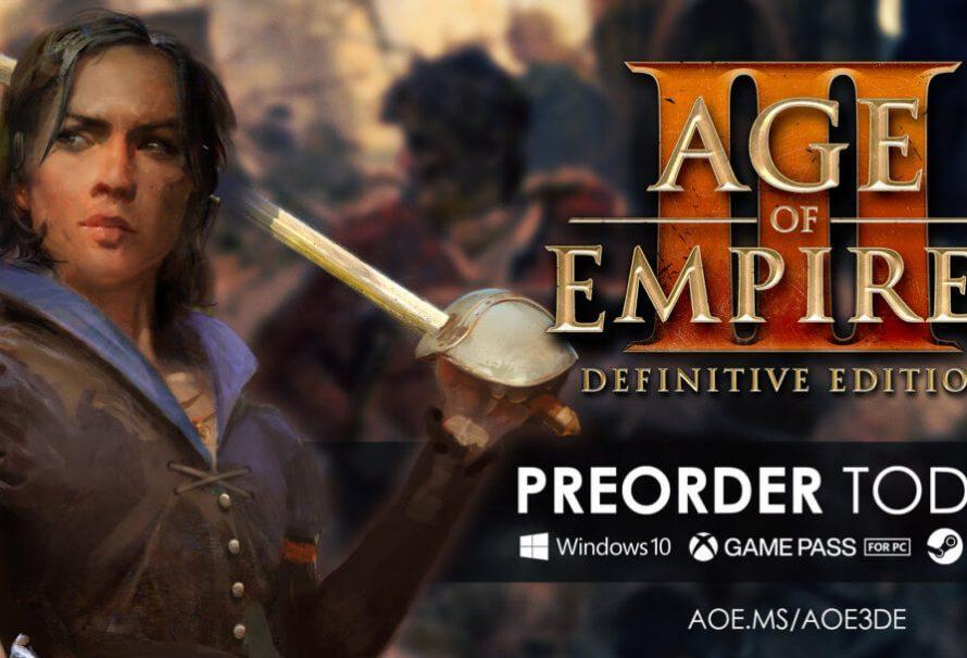 Age of Empires III: Definitive Edition 15 Ekimde Ön siparişte…